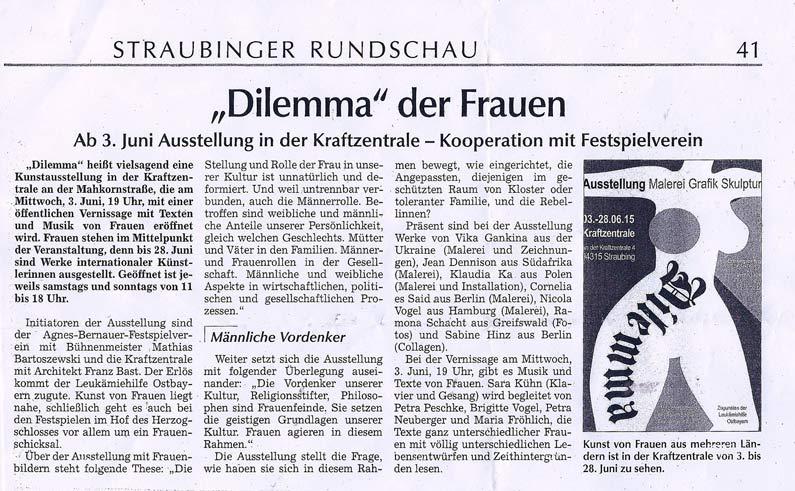 DILEMMA-Ausstellung_Straubinger-Rundschau_2015-05-30