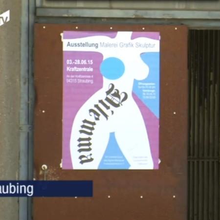 Kunst in der Kraftzentrale: Donau TV 10.06.2015