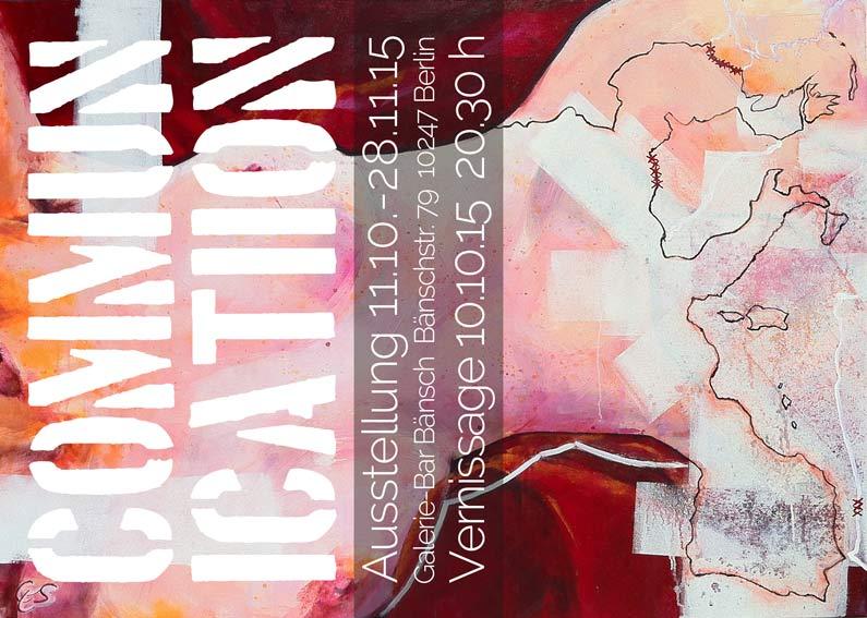 Einzelausstellung von Cornelia Es Said in Berlin: commun-ic-ati-ion