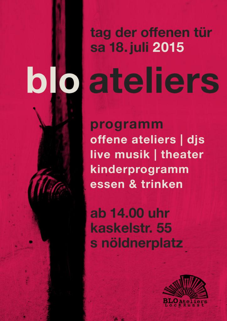 Ausstellung: Kunstfestival 2015, BLO-Ateliers