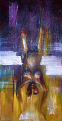 Schnelle Frau (Expressionismus) von Cornelia Es Said