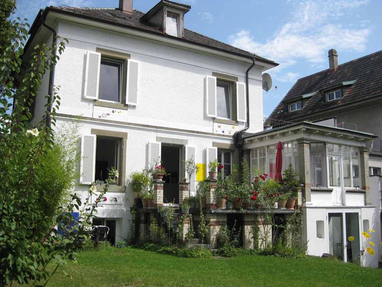 Artisthouse Bern Garten   garden