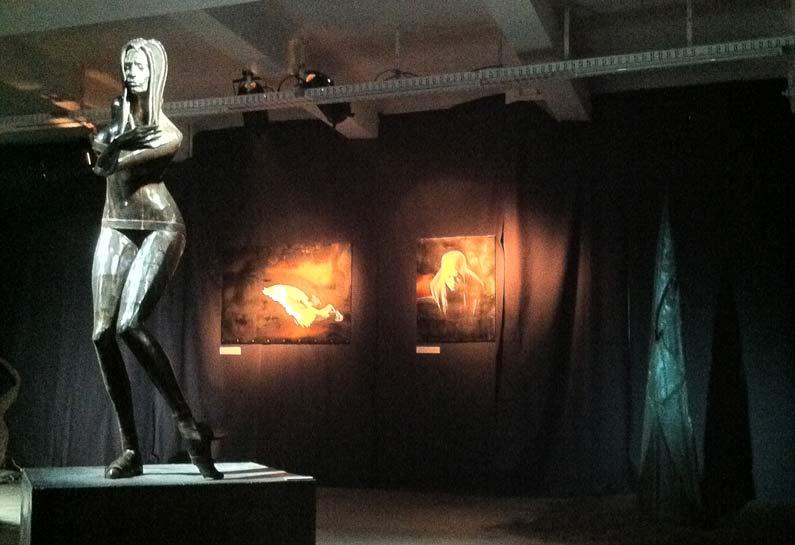 BETON STAHL TAUBE – Urban Art @ Galerie Neurotitan