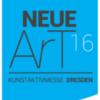 NeueArt Plakat: erste Messe für ueitgenössische Kunst in Dresden