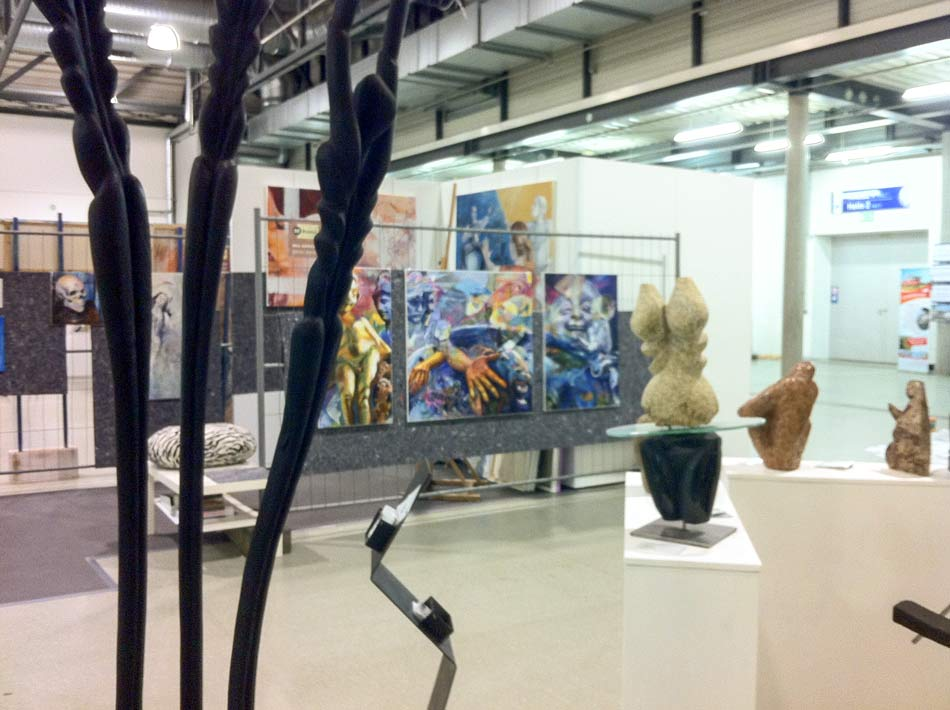 NeueArt Dresden – die verborgene Messe für zeitgenössische Kunst
