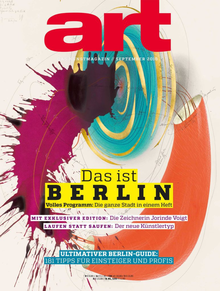 art Kunstmagazin: Review der Ausgabe zur Berlin Art Week