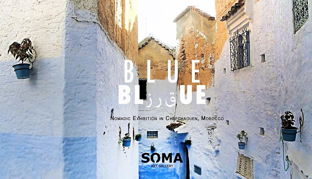 BLUE – nomadic exhibition in Morocco
