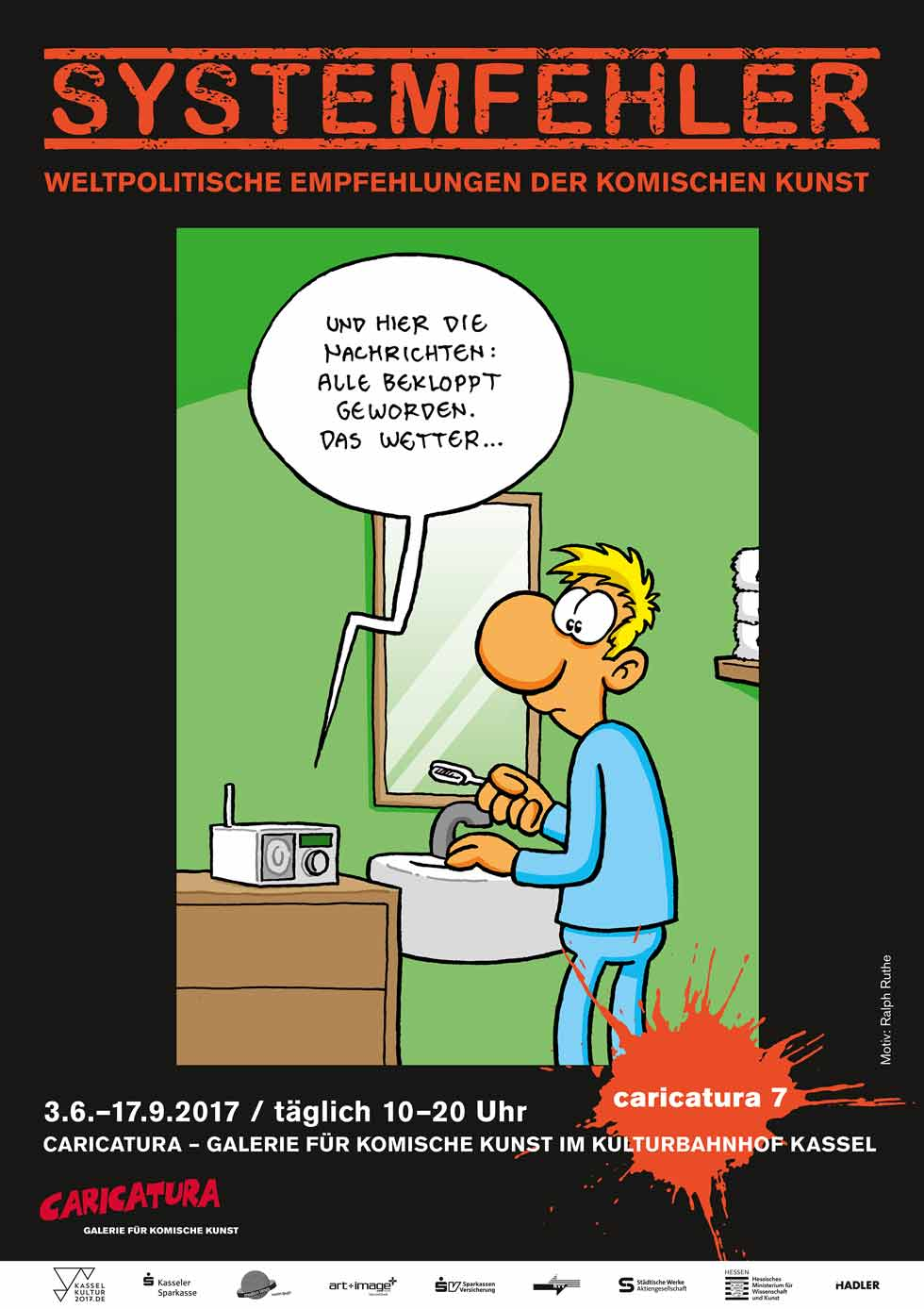 Systemfehler – die Caricatura 7 in Kassel hat, was der documenta 14 fehlt