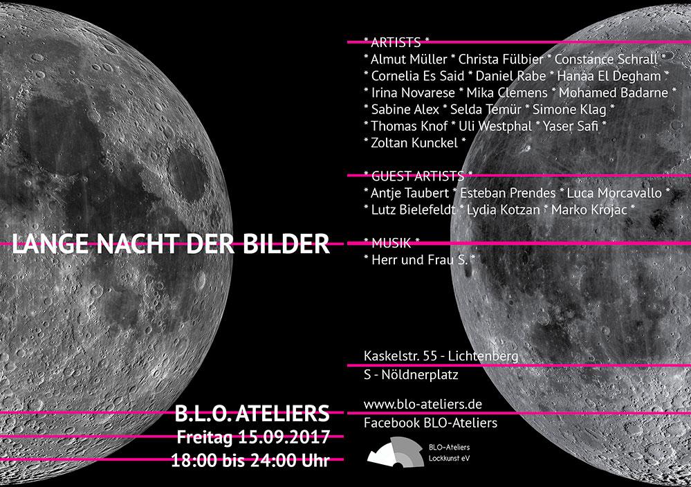 Ausstellung zur Lange Nacht der Bilder 2017 in den BLO-Ateliers