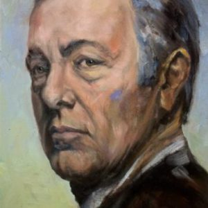 Kevin Spacey - actor oil portrait (unofficial)