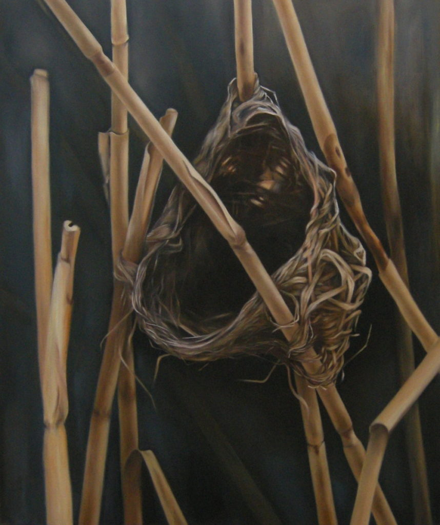 Mika Clemens oilpainting Nest