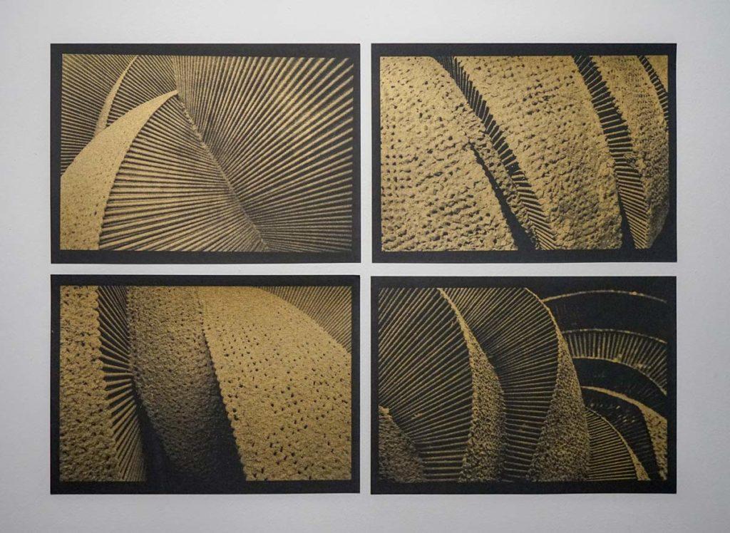 Marko Krojac - Siebdruck Gold, 4x 30x21 cn