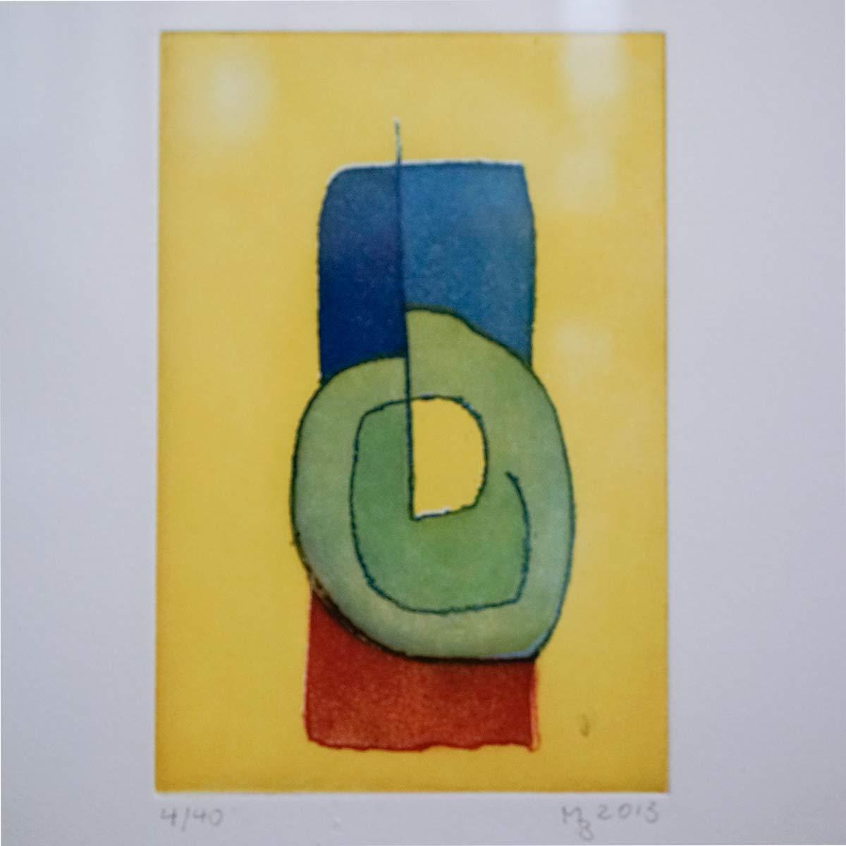 Mathias Bartoszewski - Farbradierung Nr. 4, ca. 30x36 cm