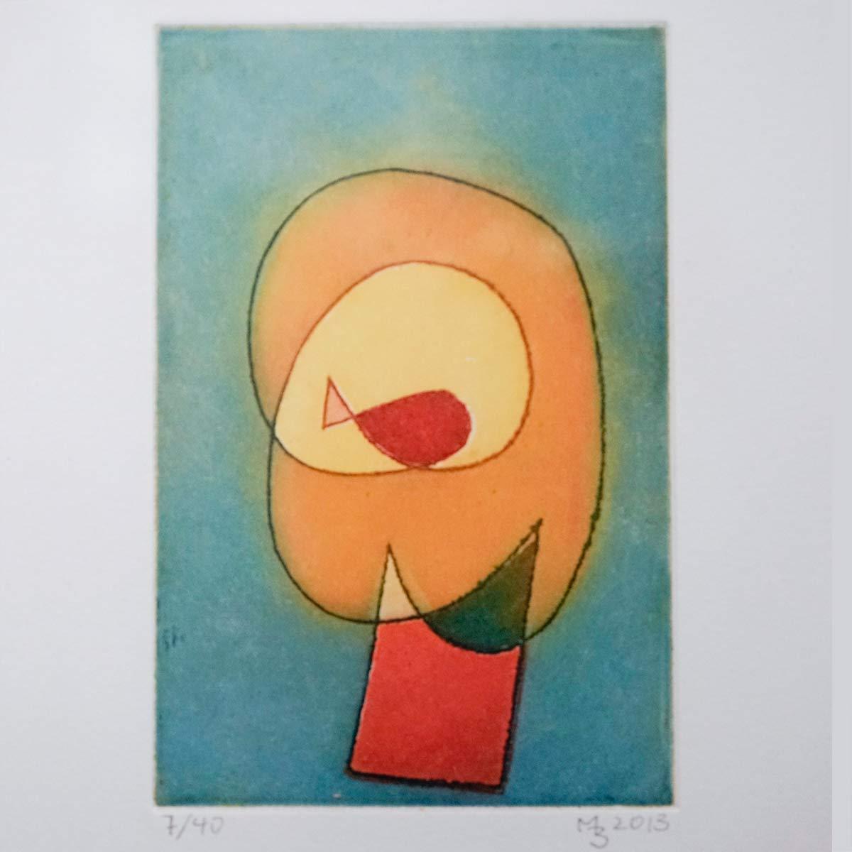 Mathias Bartoszewski - Farbradierung Nr. 3, ca. 30x36 cm