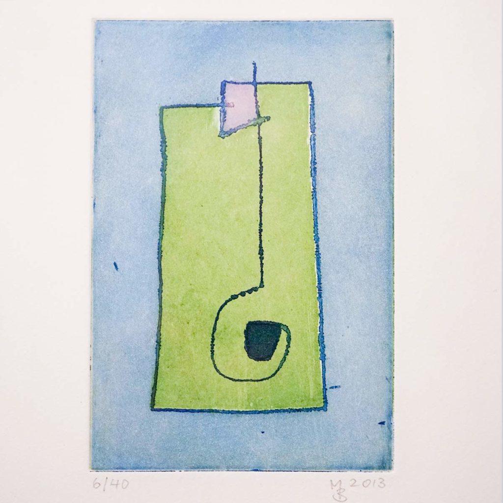 Mathias Bartoszewski - Farbradierung Nr. 2, ca. 30x36 cm