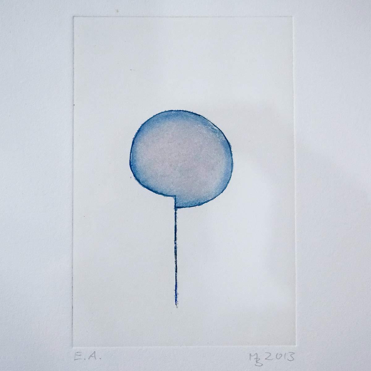 Mathias Bartoszewski - Farbradierung Nr. 5, ca. 30x36 cm