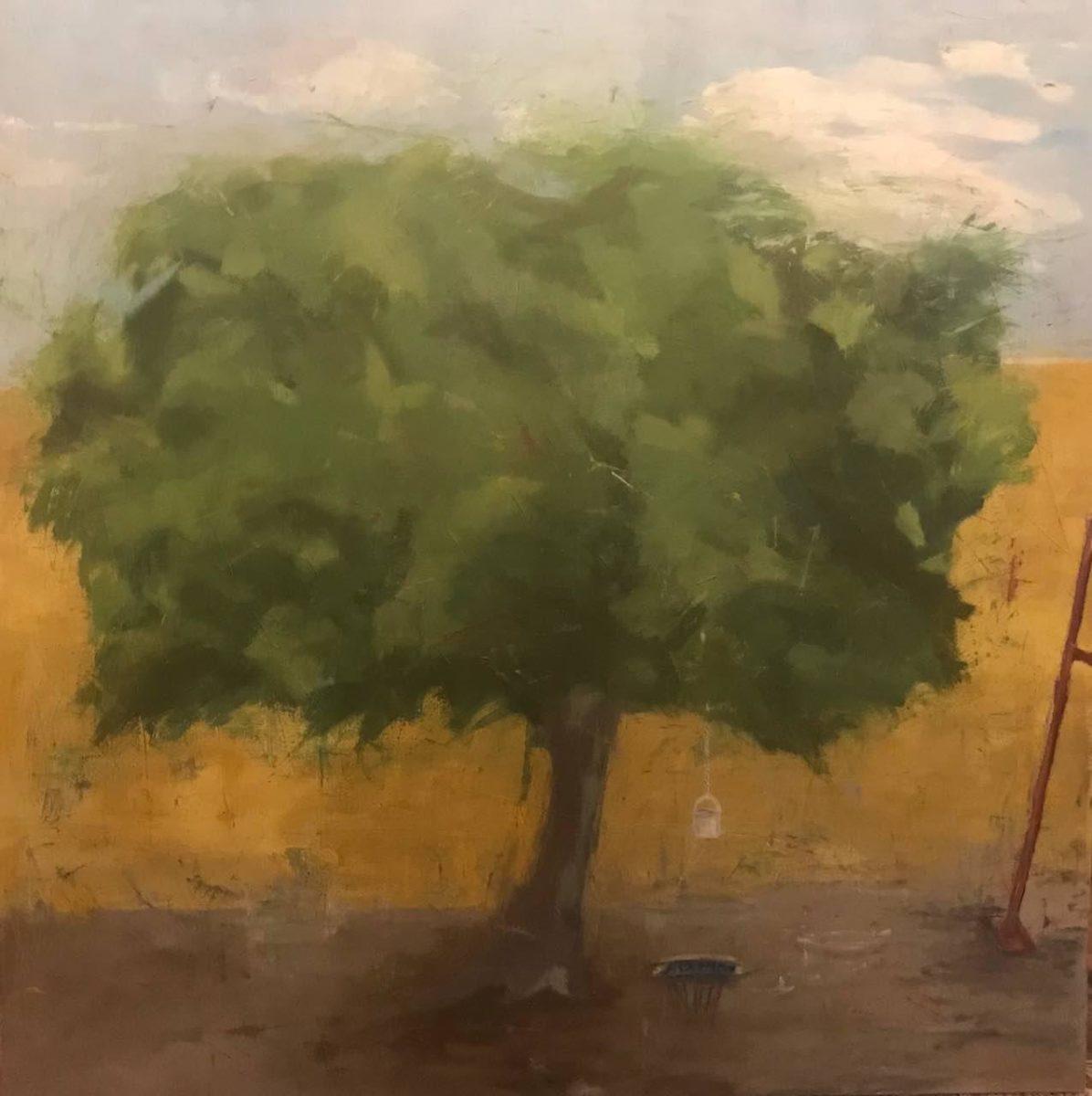 Shirin Ashkari - painting Baum