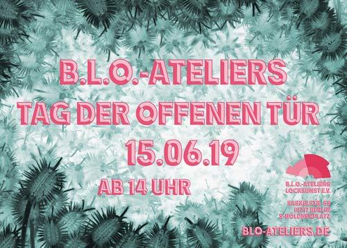 Tag der offenen Tür 2019 in den B.L.O. Ateliers