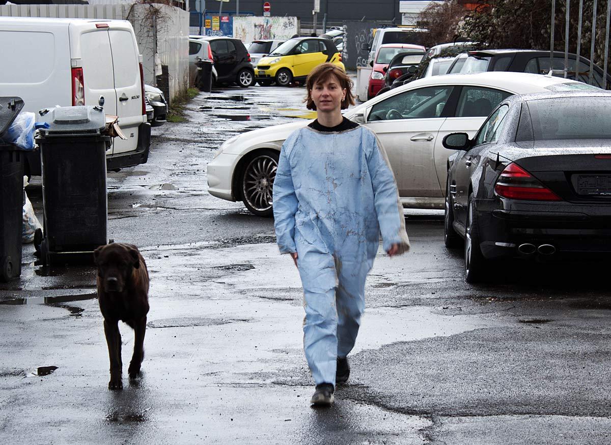 Nadjana Mohr: Walk to Niehler Freiheit Ko╠e in 2020